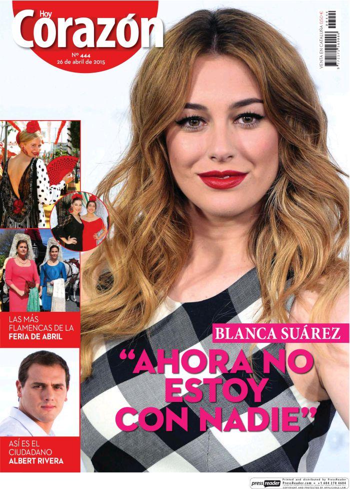 HOY CORAZON portada 26 de Abril 2015
