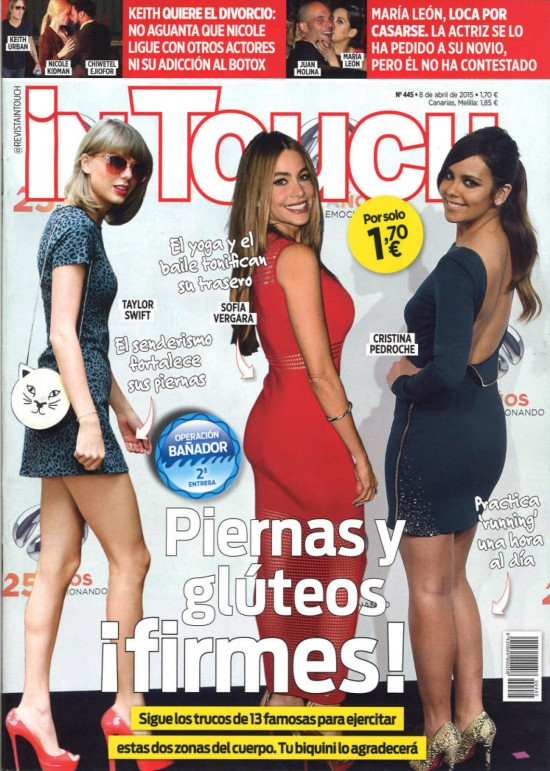 IN TOUCH portada 8 de Abril 2015