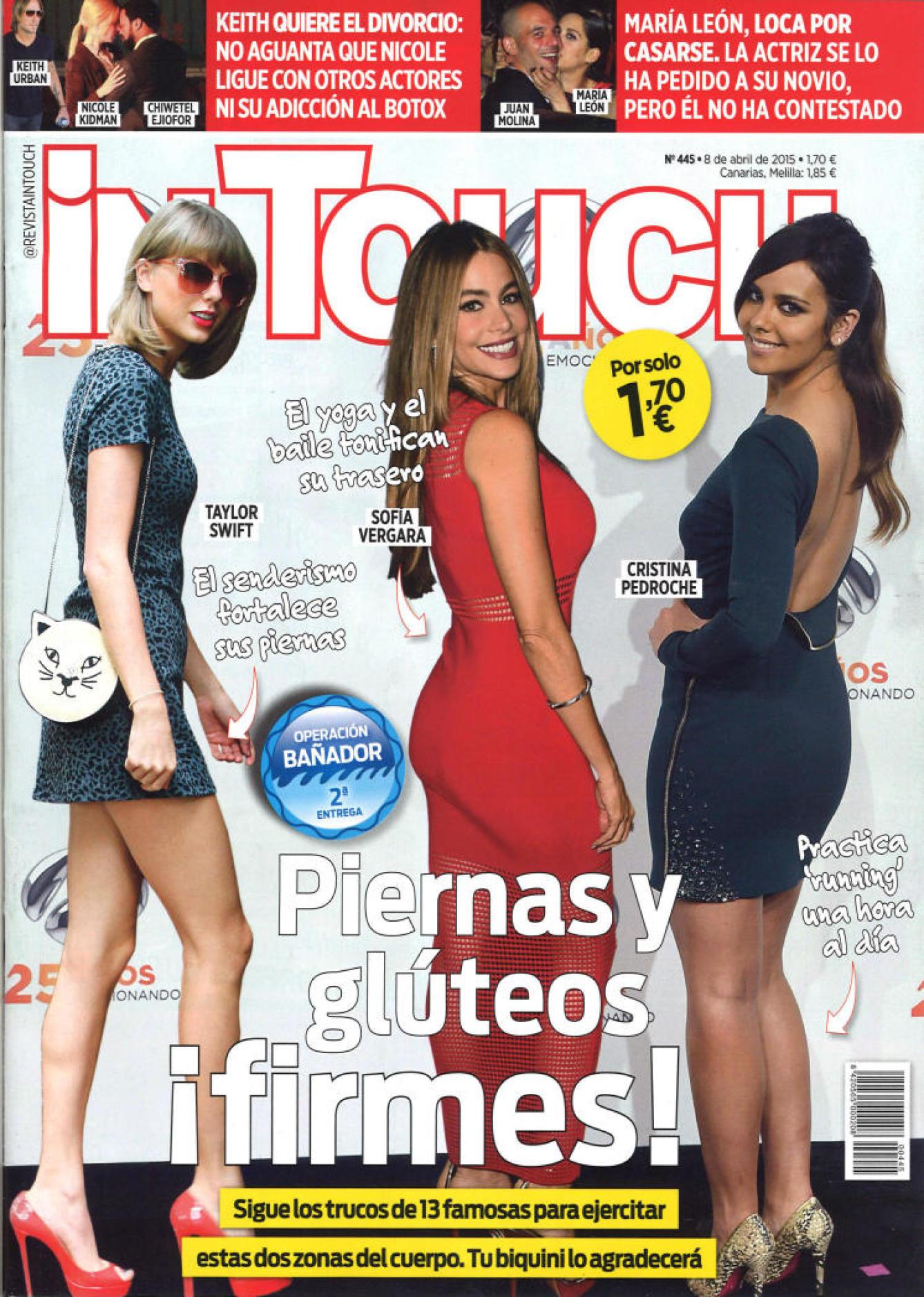 IN TOUCH portada 8 de Abril 2015
