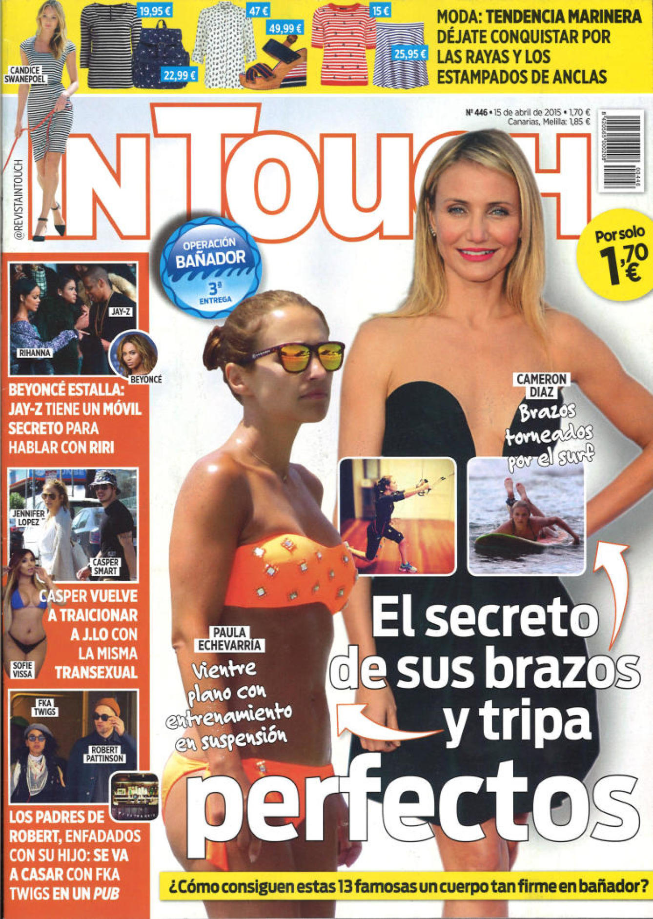 IN TOUCH portada 15 de Abril 2015