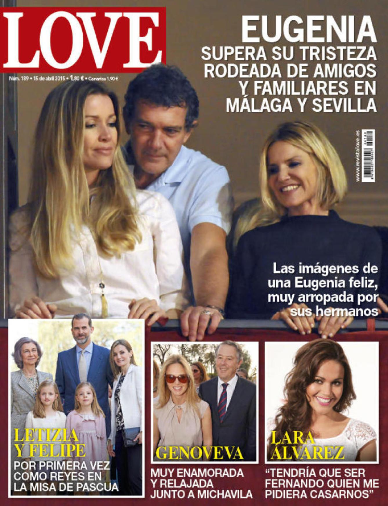 LOVE portada 8 de Abril 2015
