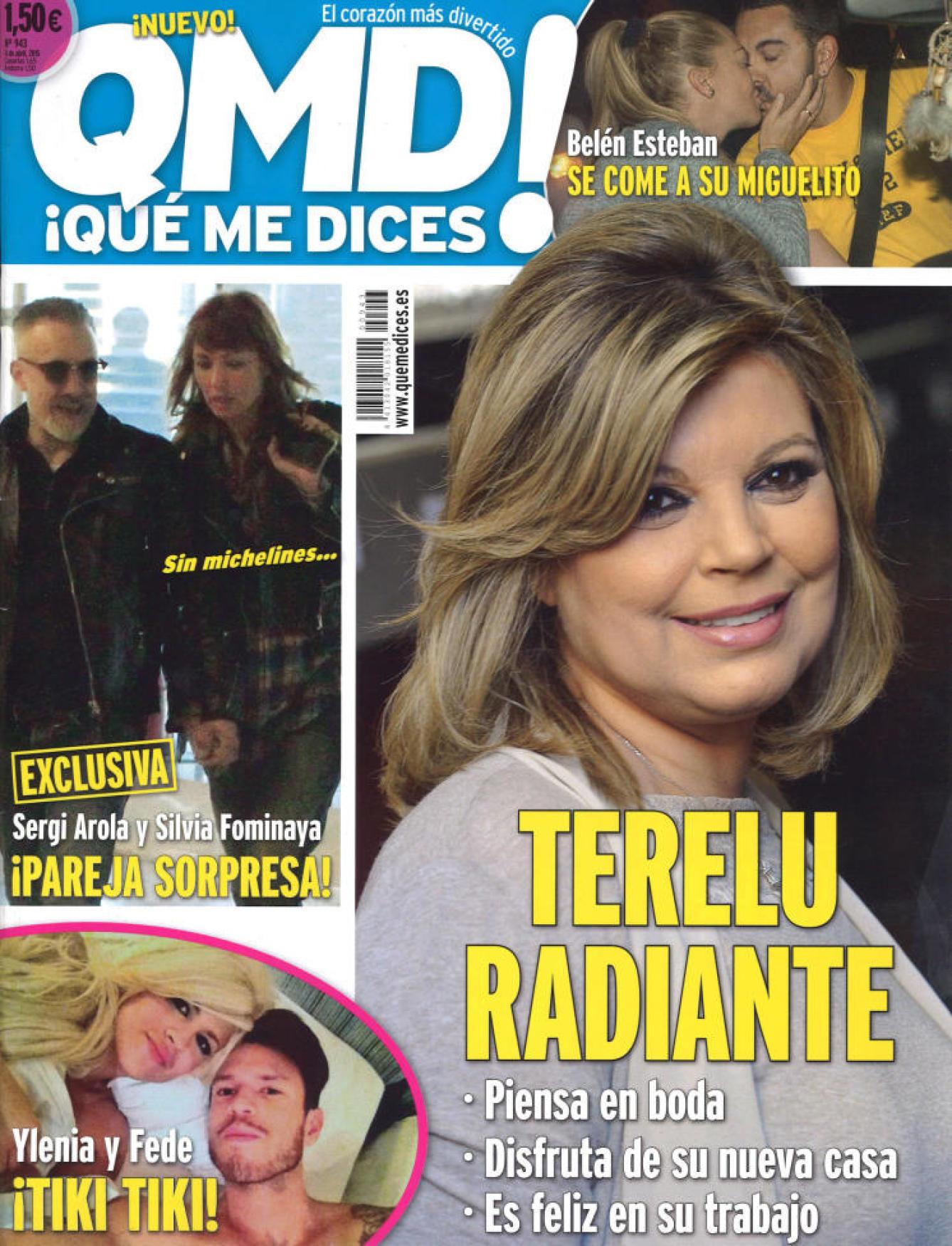 QUE ME DICES portada 6 de Abril 2015