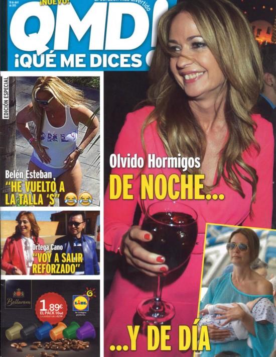 QUE ME DICES portada 13 de Abril 2015