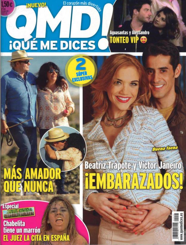 QUE ME DICES portada 20 de Abril 2015