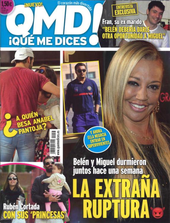QUE ME DICES portada 27 de Abril 2015
