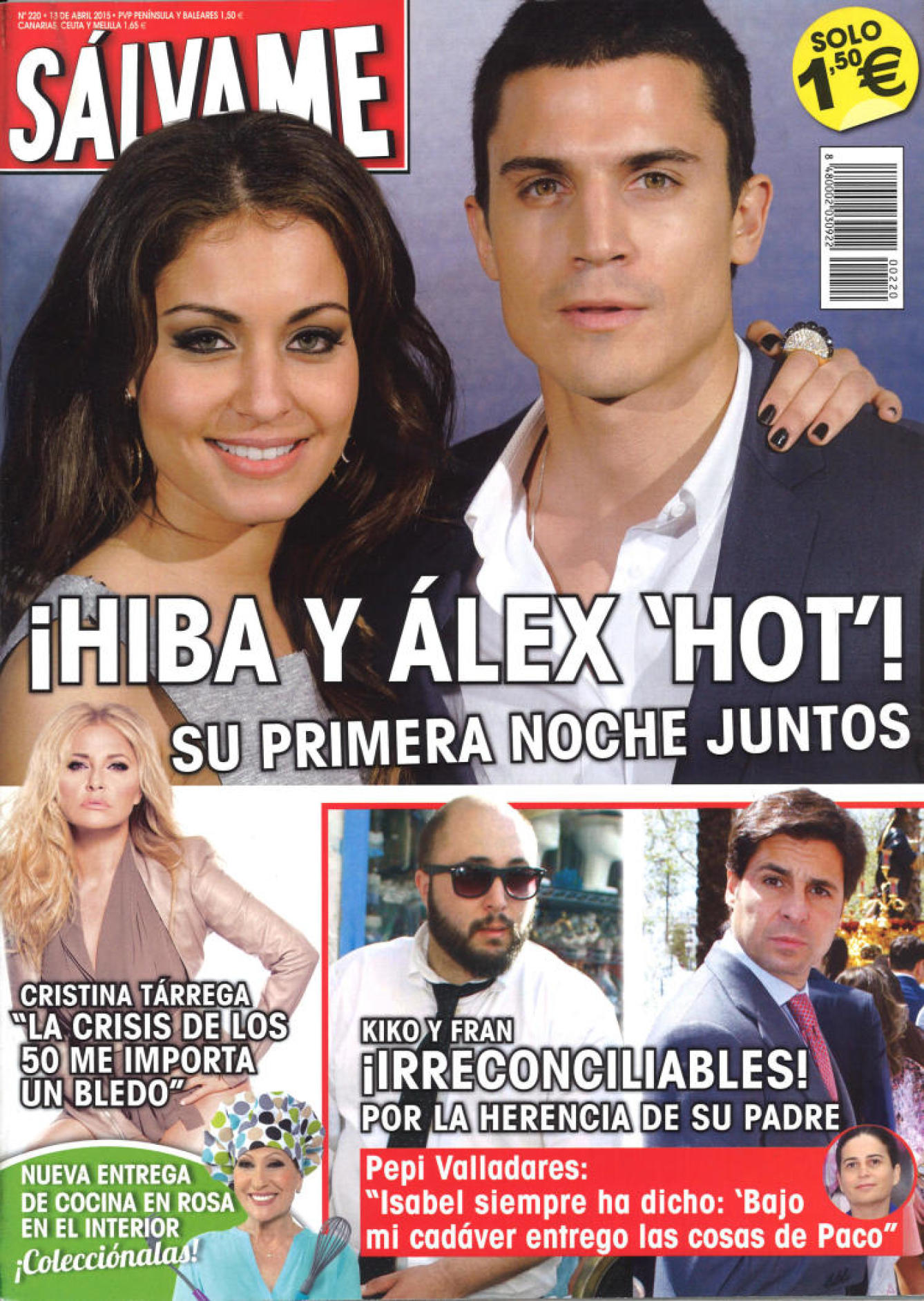 SALVAME portada 6 de Abril 2015