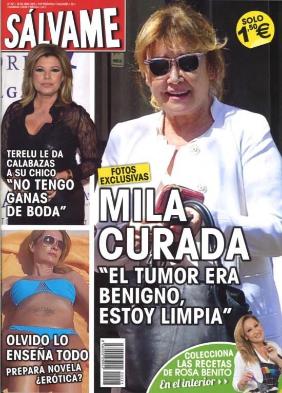SALVAME portada 13 de Abril 2015