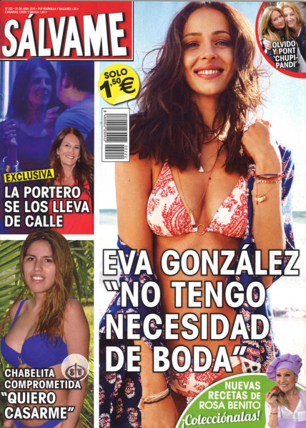 SALVAME portada 20 de Abril 2015