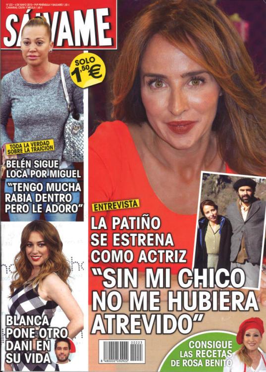 SALVAME portada 27 de Abril 2015