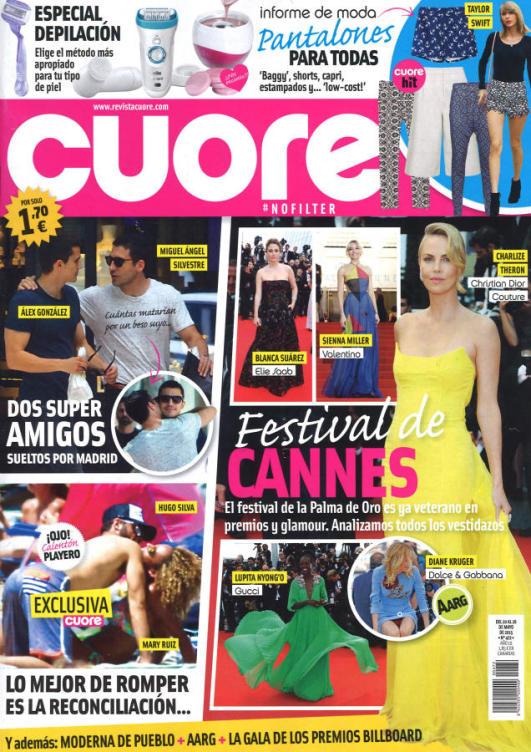 CUORE portada 20 de Mayo 2015