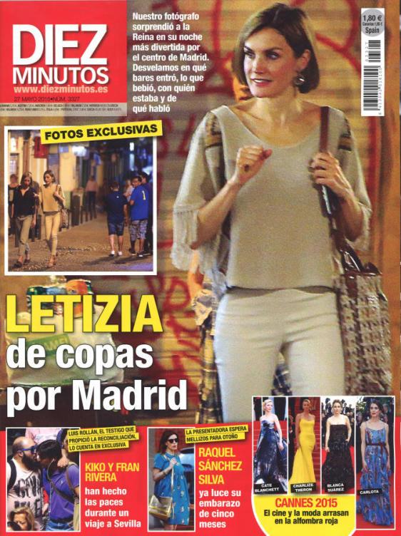 DIEZ MINUTOS portada 20 de Mayo 2015