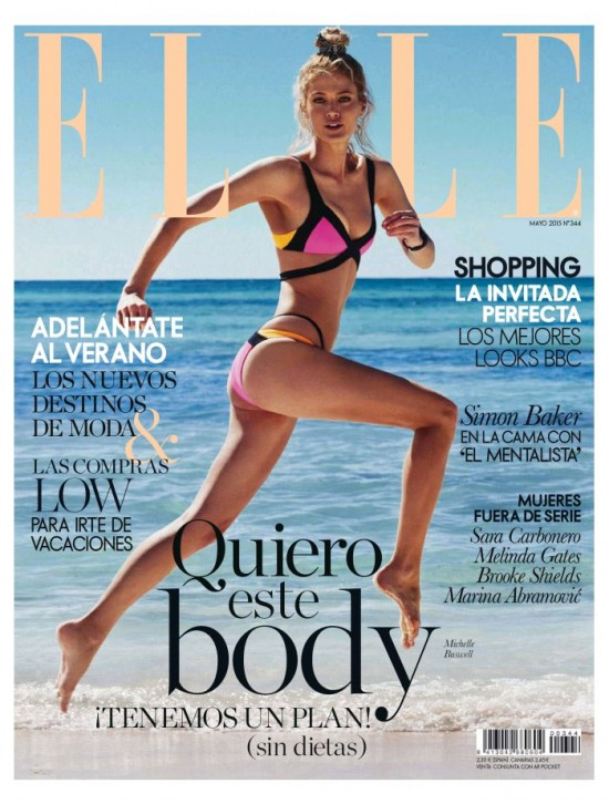 ELLE portada Mayo 2015