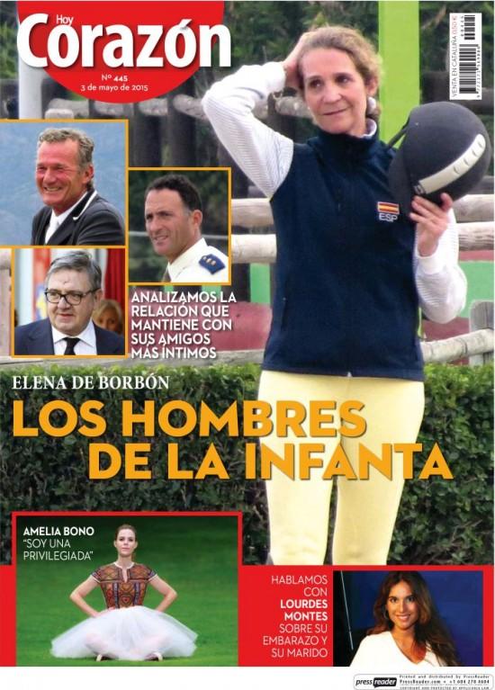 HOY CORAZON portada 3 de Mayo 2015