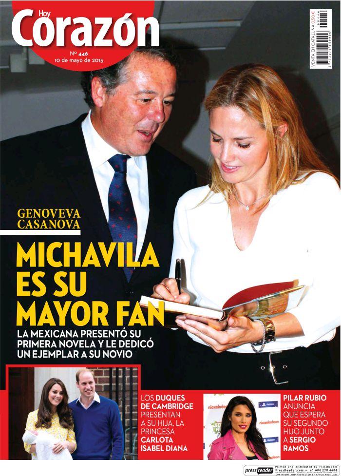 HOY CORAZON portada 10 de Mayo 2015