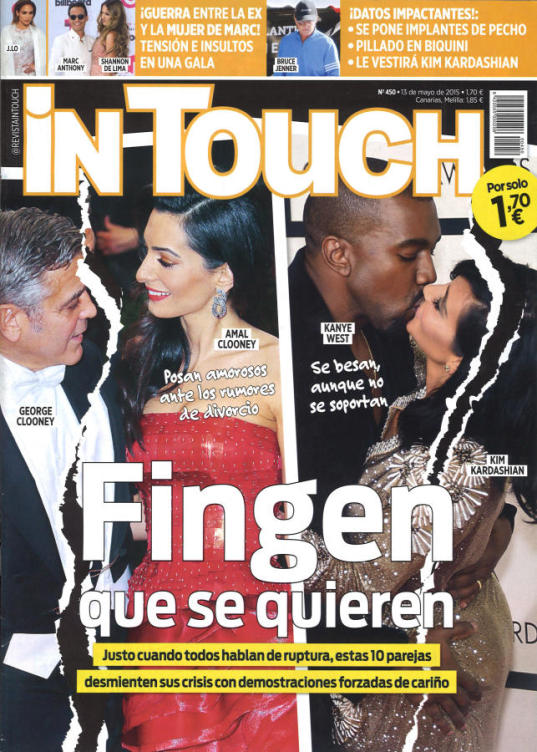IN TOUCH portada 13 Mayo 2015