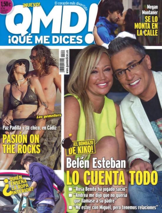 QUE ME DICES portada 18 de Mayo 2015