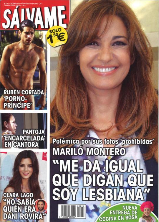 SALVAME portada 4 de Mayo 2015