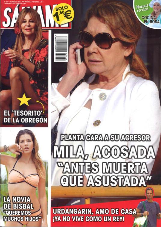 SALVAME portada 18 de Mayo 2015