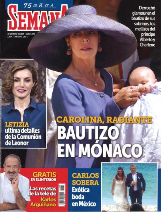 SEMANA portada 13 de Mayo 2015