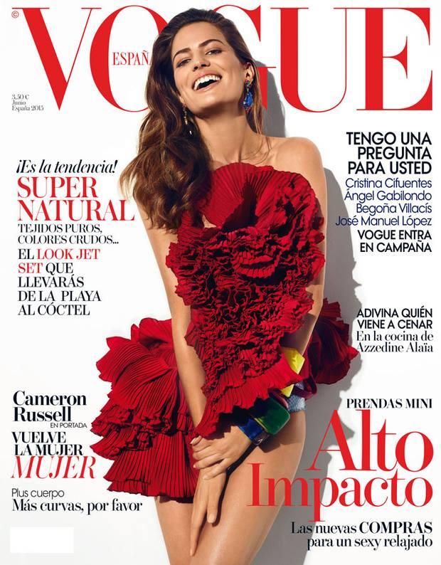 VOGUE portada Junio 2015