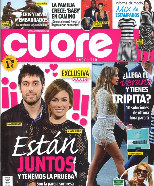 CUORE portada 3 de Junio 2015