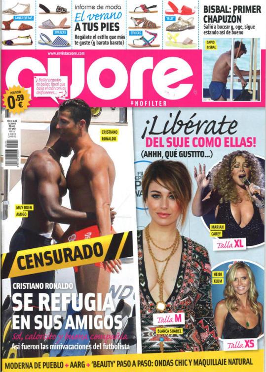 CUORE portada 10 de Junio 2015