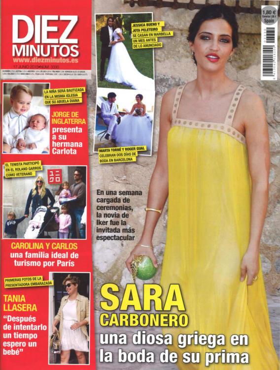 DIEZ MINUTOS portada 10 de Junio 2015