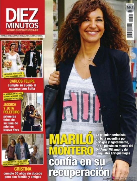 DIEZ MINUTOS portada 17 de Junio 2015