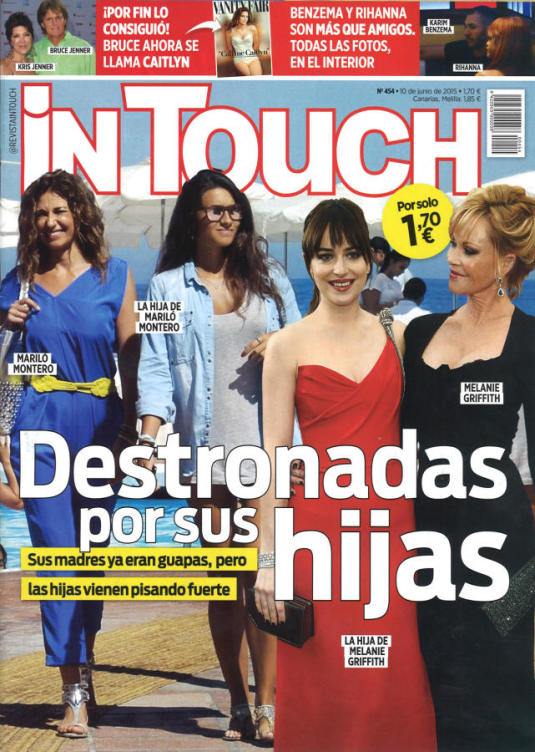 IN TOUCH portada 10 de Junio 2015