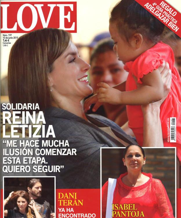 LOVE portada 3 de Junio 2015