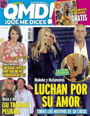 QUE ME DICES portada 22 de Enero 2015