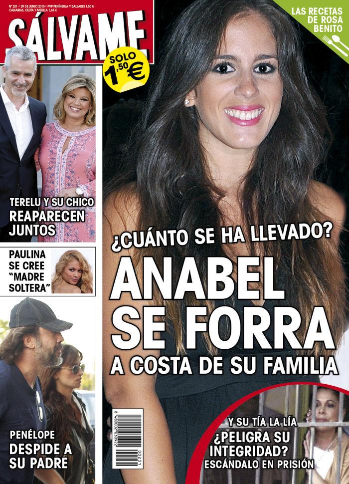 SALVAME portada 22 de Junio 2015