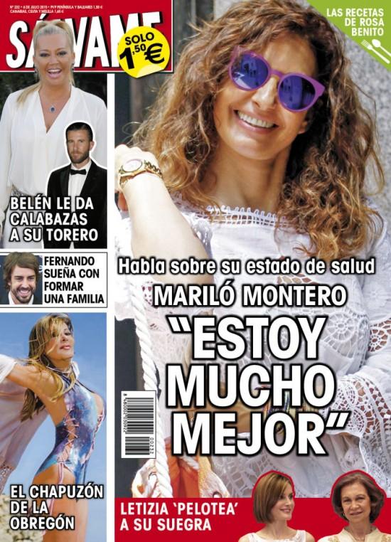 SALVAME portada 29 de Junio 2015