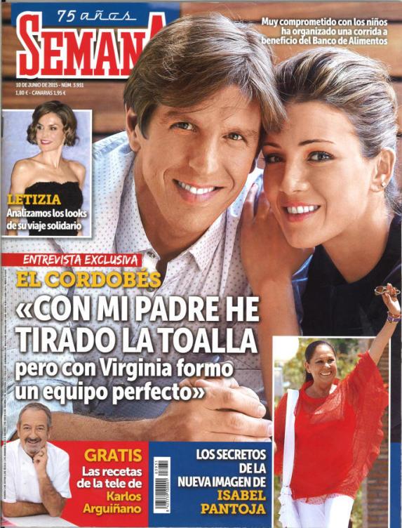 SEMANA portada 3 de Junio 2015