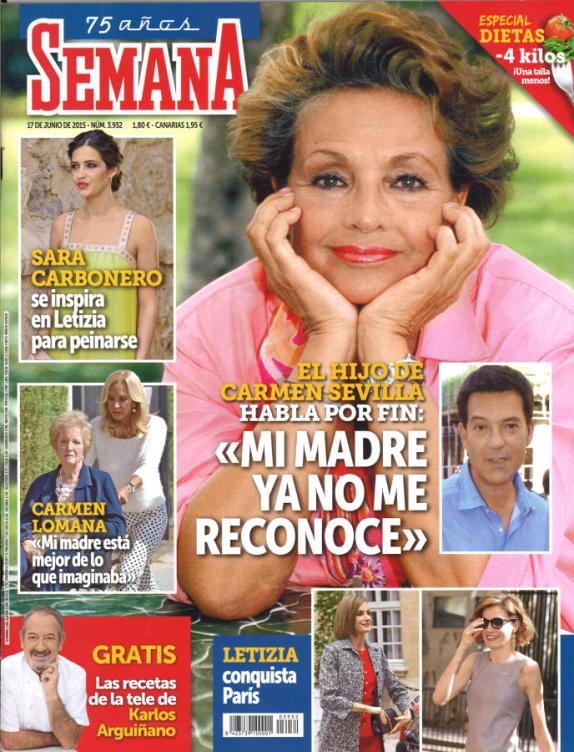 SEMANA portada 10 de Junio 2015