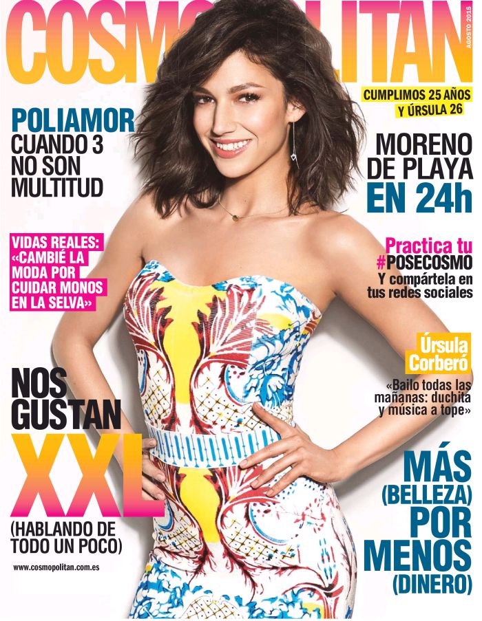 COSMOPOLITAN portada Agosto 2015