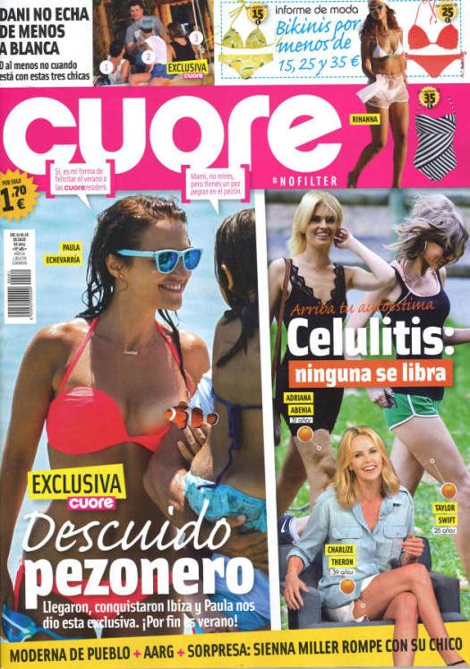CUORE portada 22 de Julio 2015