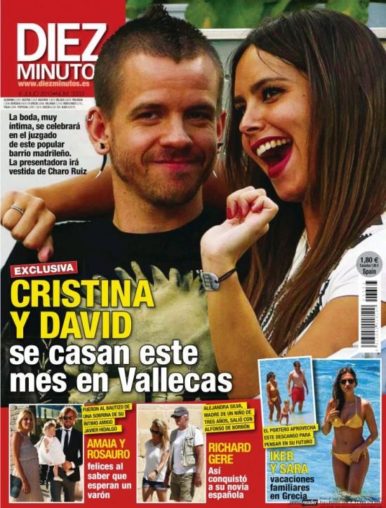 DIEZ MINUTOS portada 1 de Julio 2015