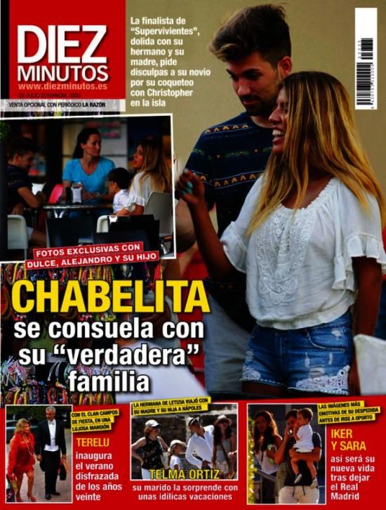 DIEZ MINUTOS portada 15 de Julio 2015