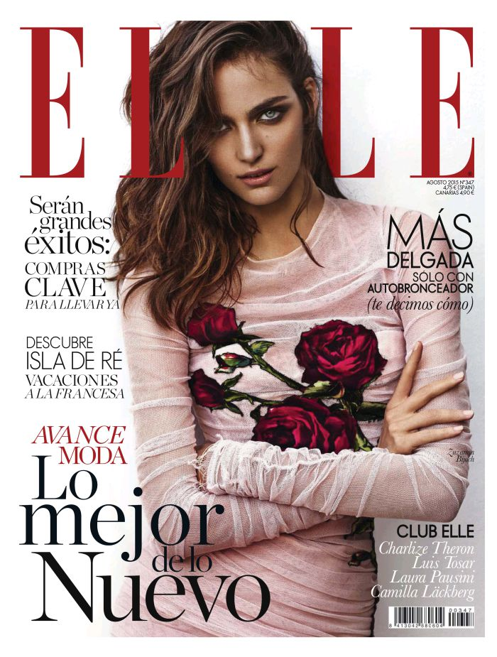 ELLE portada Agosto 2015