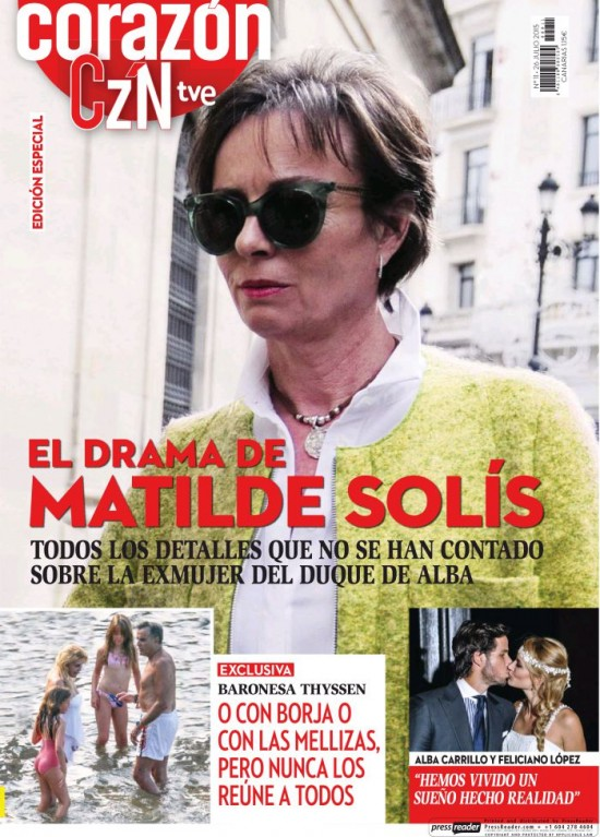 HOY CORAZON portada 26 de julio 2015