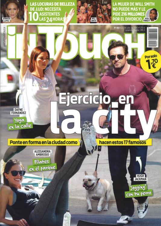 IN TOUCH portada 22 de julio 2015