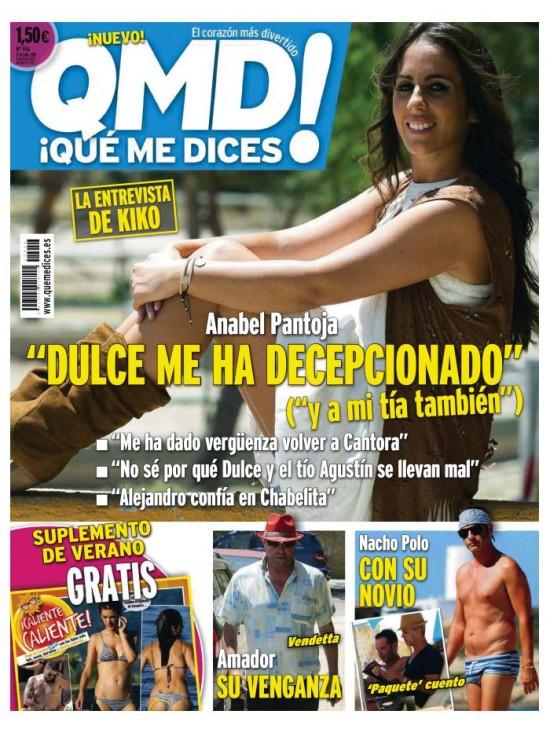 QUE ME DICES portada 6 de Julio 2015