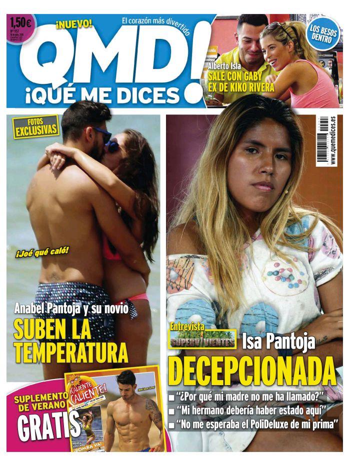 QUE ME DICES portada 13 de Julio 2015
