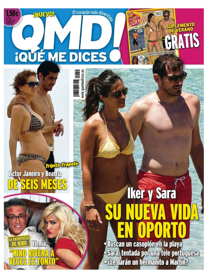 QUE ME DICES portada 28 de Julio 2015