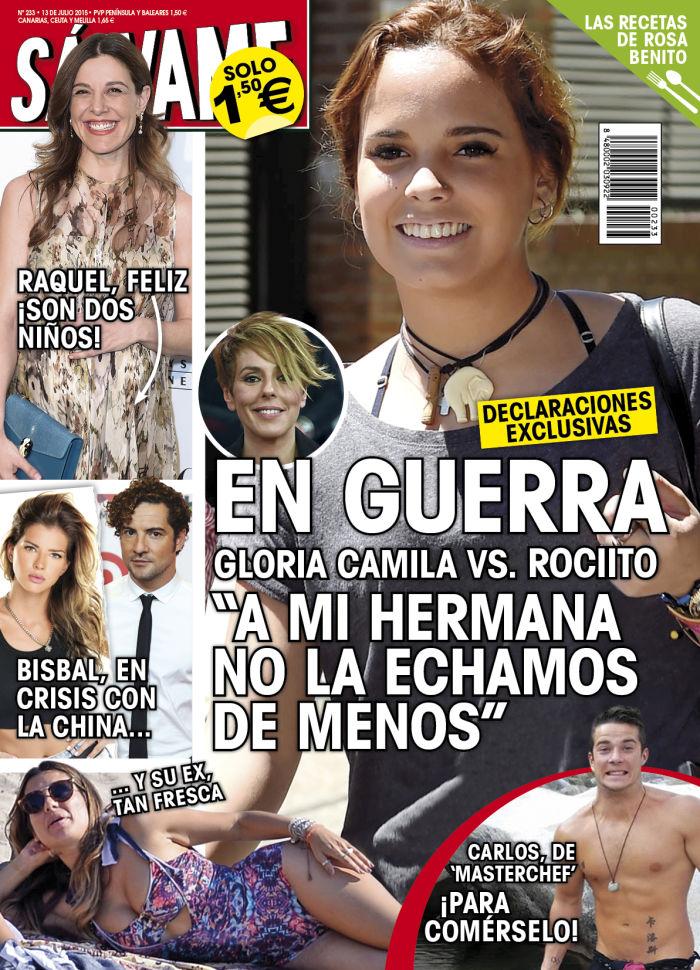 SALVAME portada 6 de Julio 2015