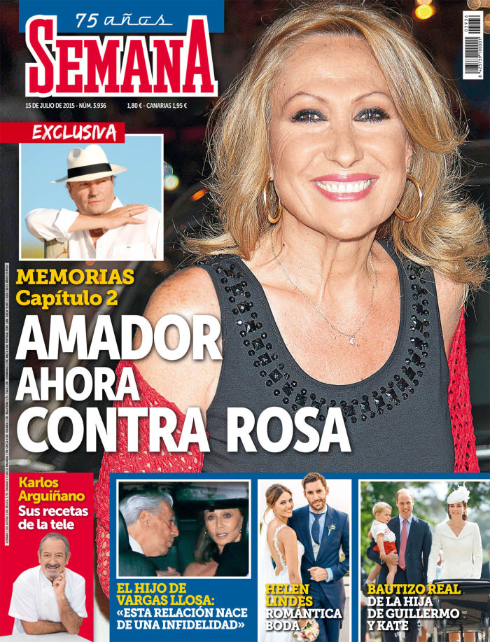 SEMANA portada 8 de Julio 2015