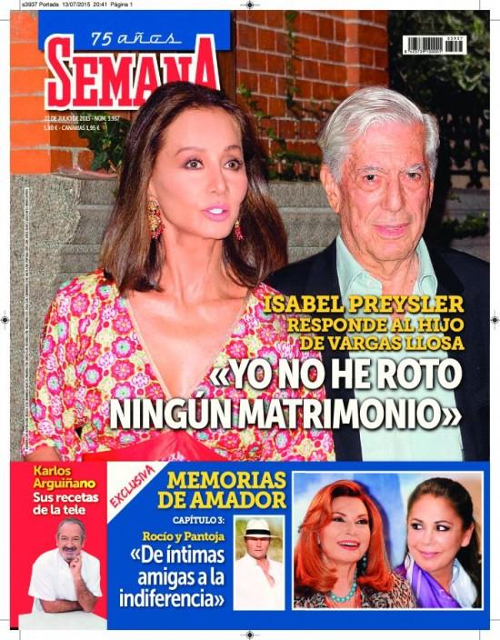 SEMANA portada 15 de Julio 2015