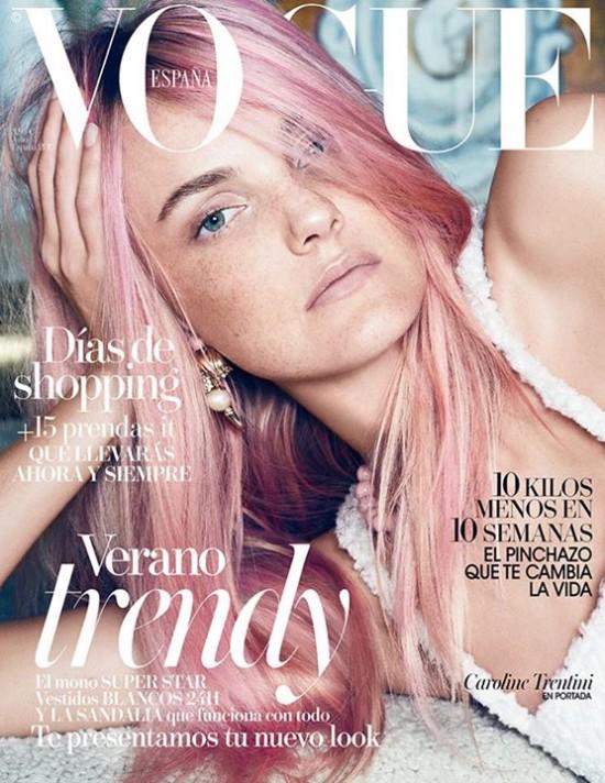 VOGUE portada Agosto 2015
