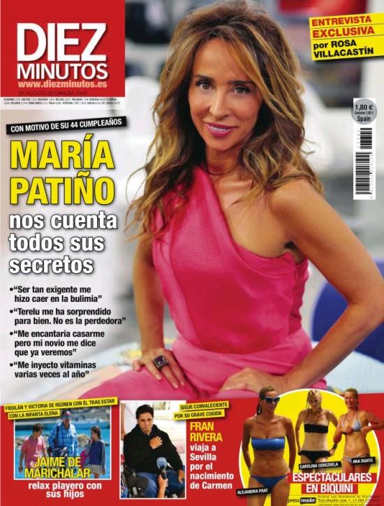 DIEZ MINUTOS portada 19 de Agosto 2015